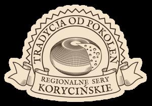 LOGO firmy Serowar Podlaski z serami korycińskimi