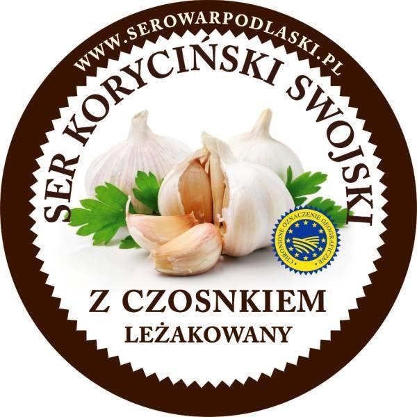 ser koryciński z czosnkiem jasny