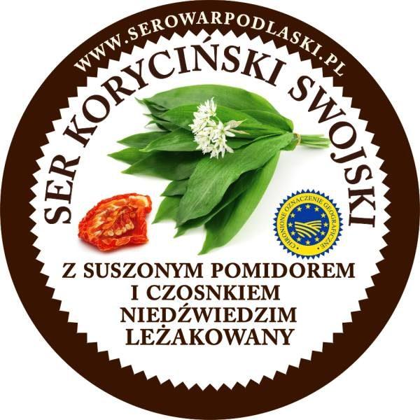 Ser koryciński z suszonymi pomidorami jasny