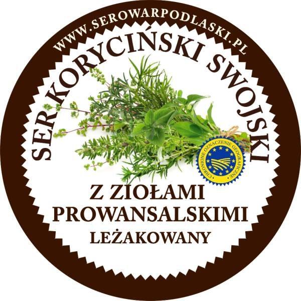Ser koryciński z ziołami prowensalskimi