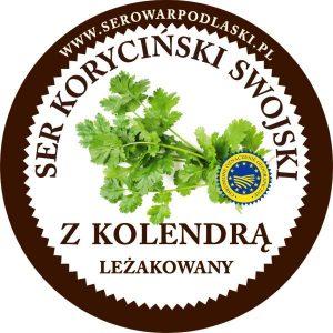 Ser koryciński z kolendrą