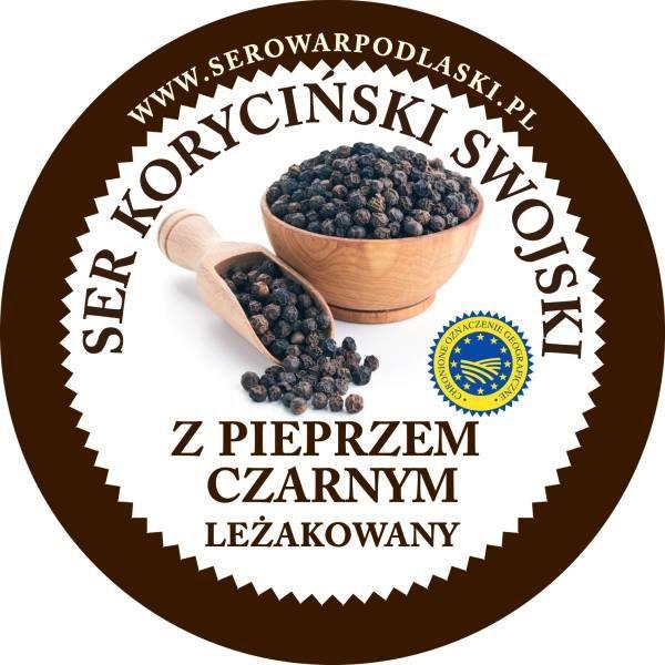 ser koryciński z czarnym piepszem