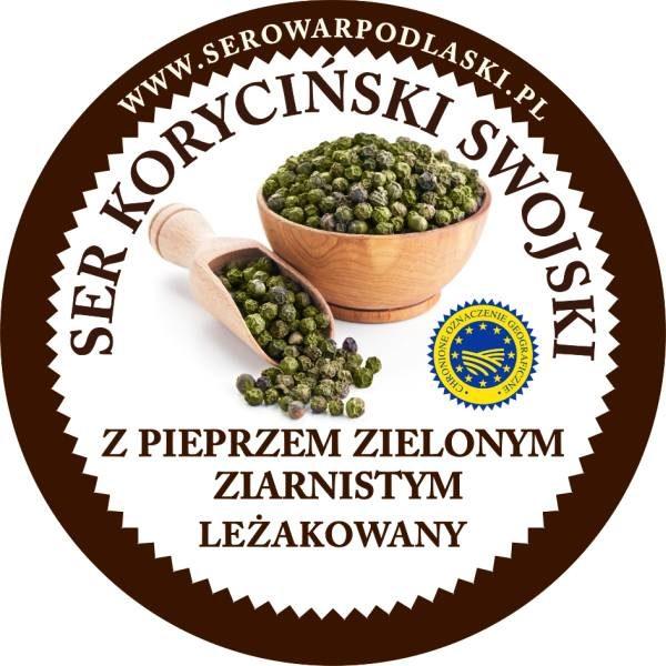 ser koryciński z pieprzem zielonym ziarnistym